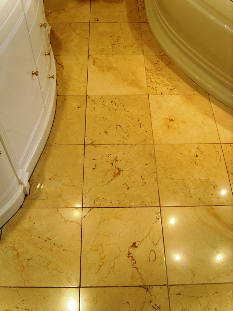Marble EnSuite Floor After