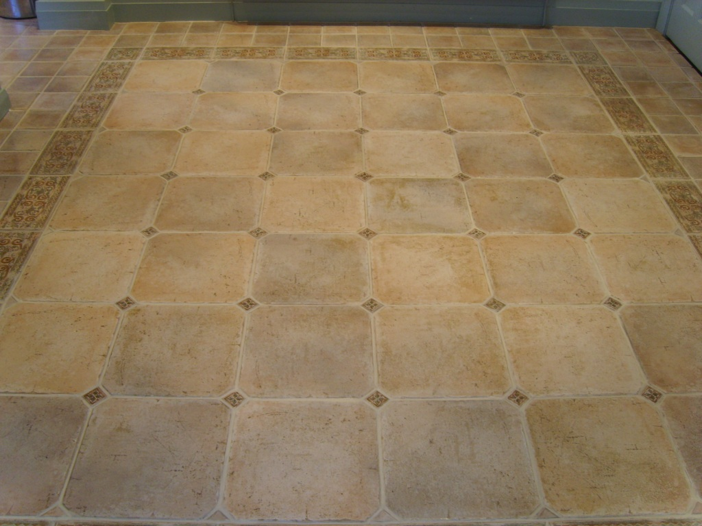 Porcelain Stone effect Tiles After
