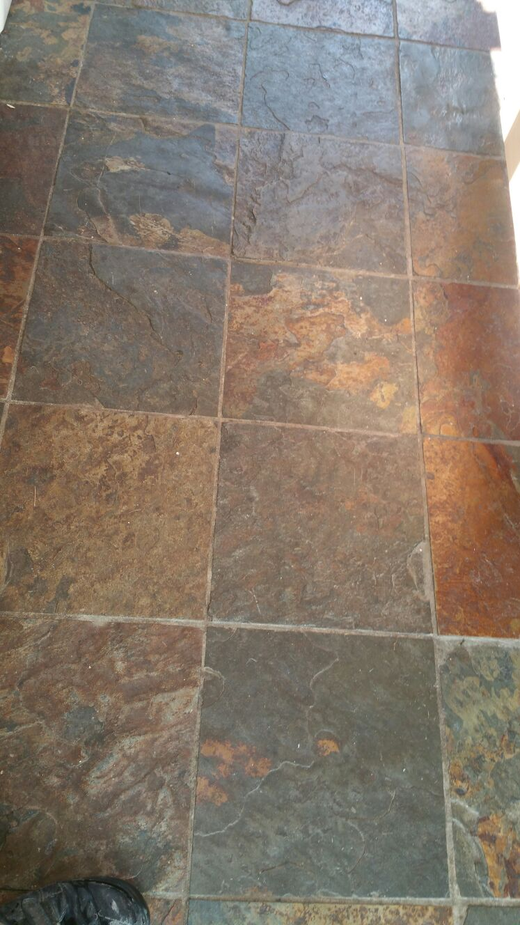 Slate Stone Tiles : Tile cleaning dorset doctor